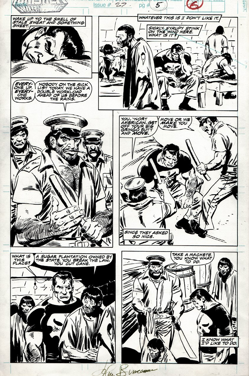 Punisher: War Zone #27 p 5 (1994)