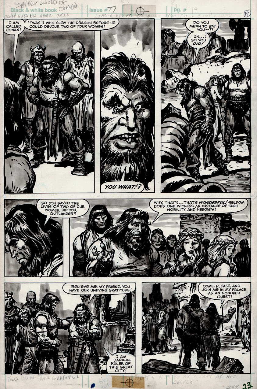 Savage Sword of Conan #77 p 23 (1982)