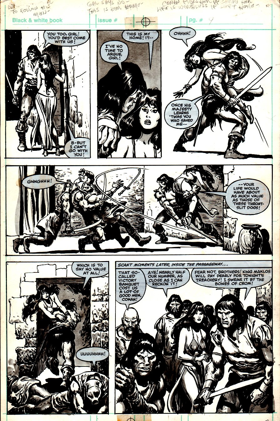 Savage Sword of Conan #78 p 13 (1982)