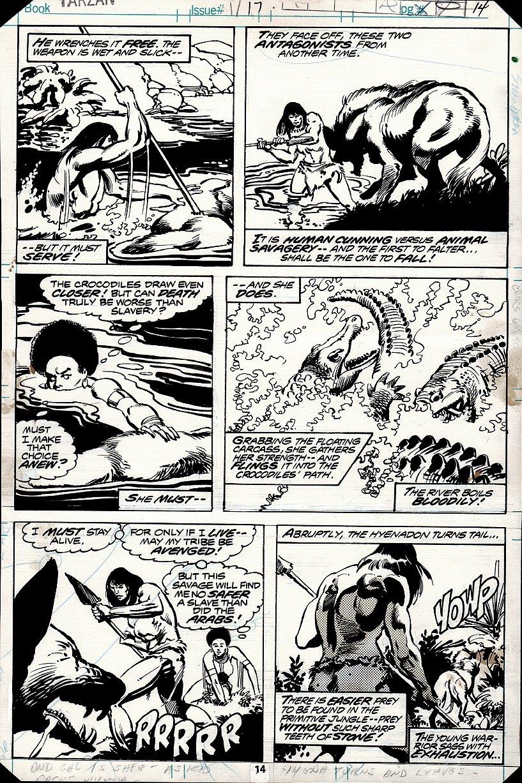 Tarzan #17 p 14 (1978)