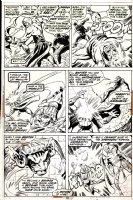 Avengers #105 p 21 (1972) Comic Art