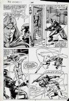Avengers #256 p 3 (1985) Comic Art