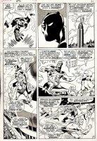 Avengers #76 p 17 (1970) Comic Art