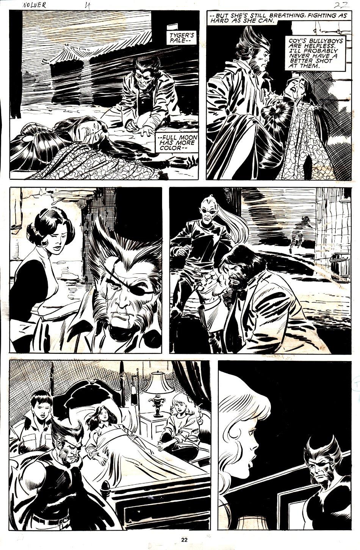 Wolverine #4 p 22 (1988)