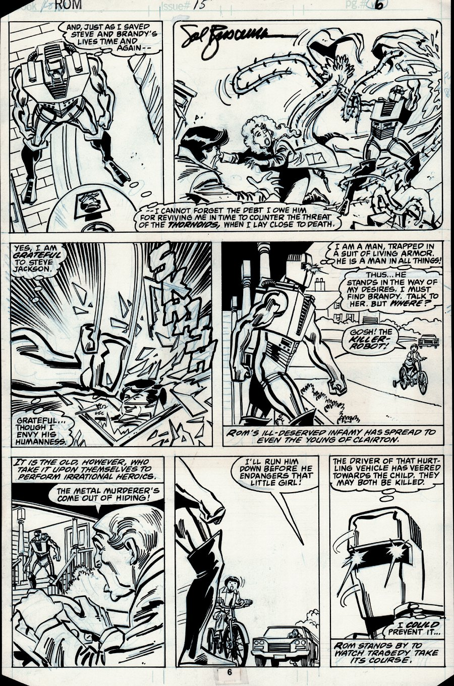 ROM #15 p 6 (ROM in EVERY PANEL!) 1980