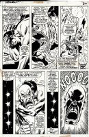 Defenders #1 p 19 (FIRST ISSUE!) 1972 Comic Art