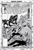 Spectacular Spider-Man #152 Cover (1989) Comic Art