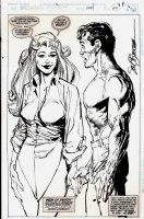 Spectacular Spider-Man #220 p 22 SPLASH (FIRST SPIDER-GIRL MENTION) 1994 Comic Art