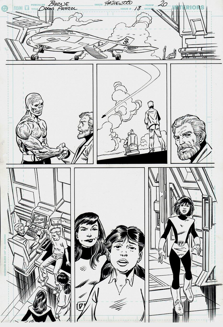 Doom Patrol #18 p 20 (Last Issue!) 2005