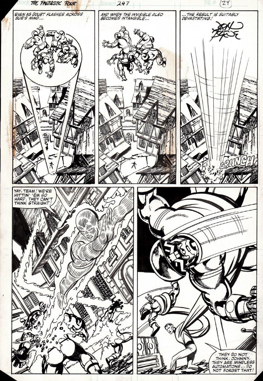 Fantastic Four #247 p 24 (1982)