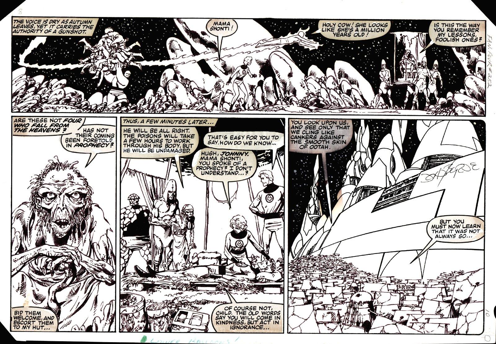 Fantastic Four #252 p 10 (1982)