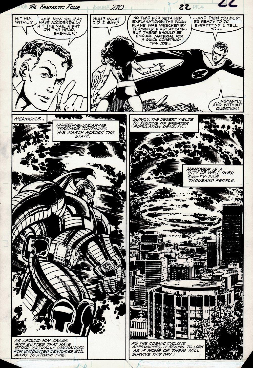 Fantastic Four #270 p 17 (1984)