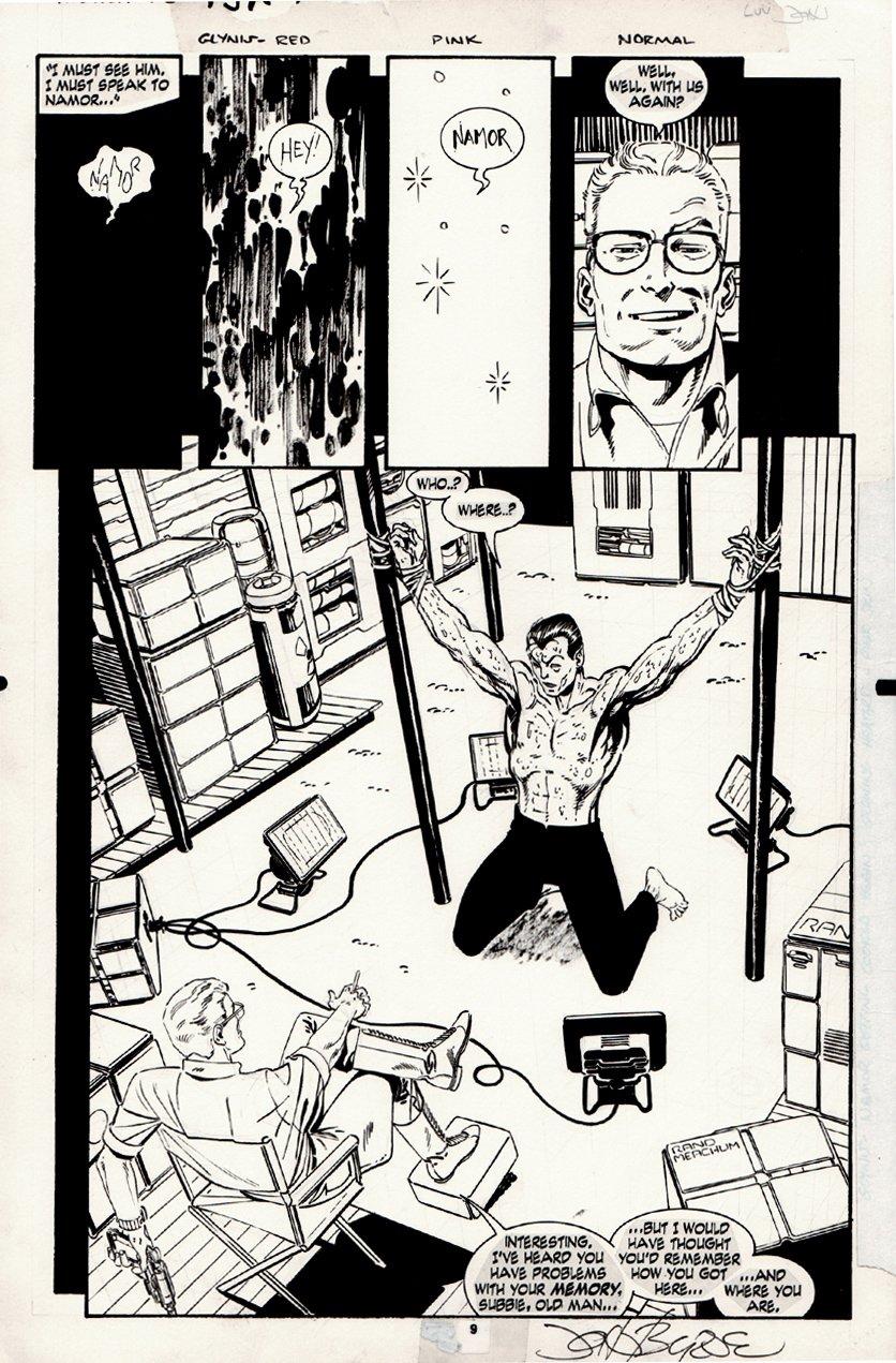 Namor, the Sub-Mariner #16 p 9 SPLASH (1991)