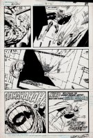 Action Comics #592 p 22 (1987) Page sc Comic Art