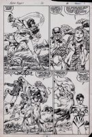 Alpha Flight #20 p 8 (1985) Page sc Comic Art