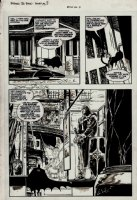 Batman 3-D p 7 (1990) Comic Art