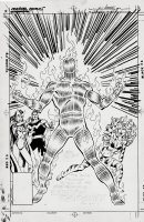 Avengers West Coast #50 Unpublished Cover (1989) Comic Art
