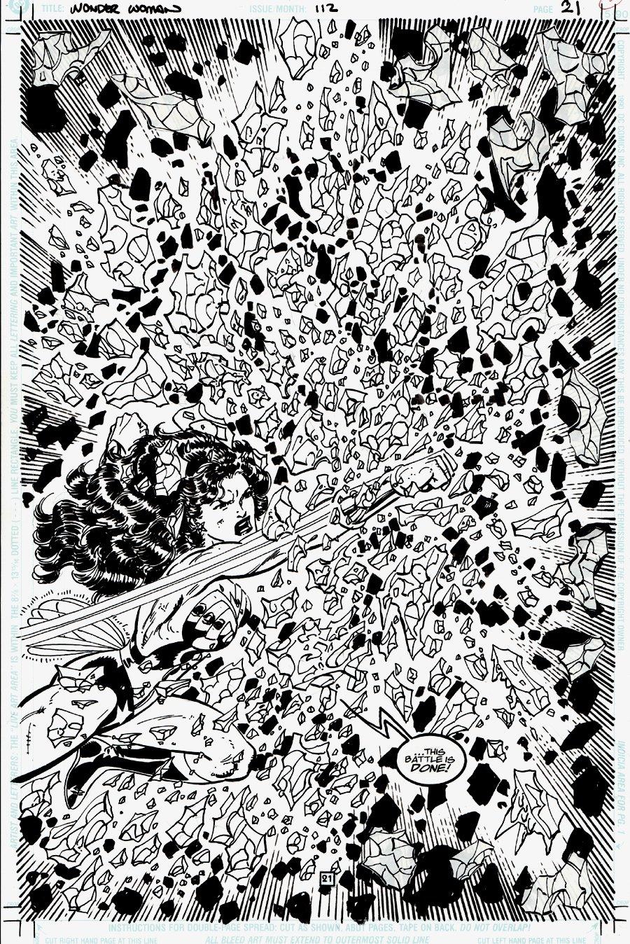 Wonder Woman #112 p 21 SPLASH (1996)