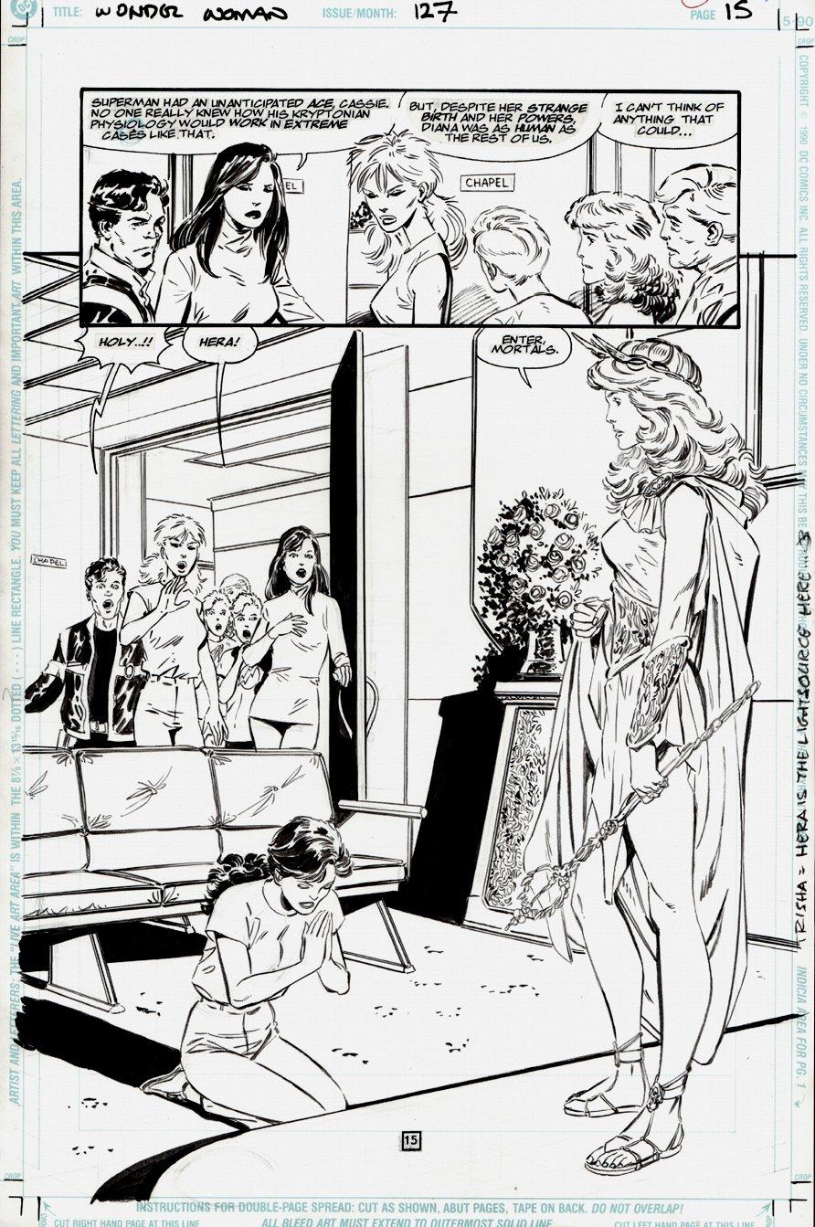 Wonder Woman #127 p 15 SPLASH (1997)