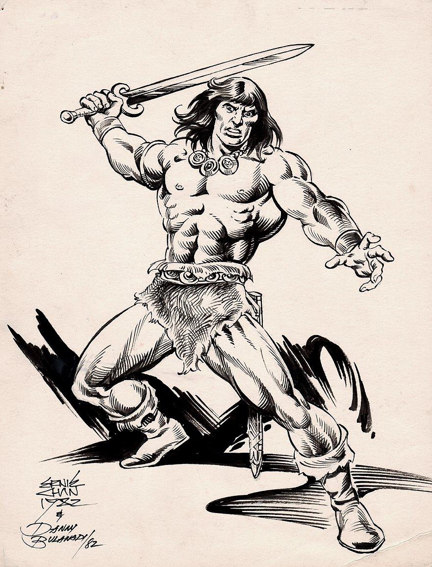 Conan Pinup (1982)