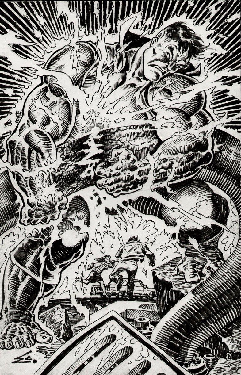 Incredible Hulk #400 Published PINUP (1992)