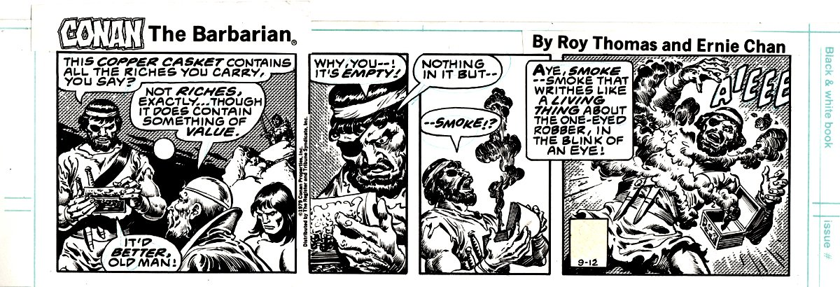 Conan the Barbarian Comic Strip Daily