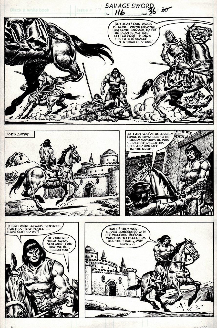 Savage Sword of Conan #116 p 36 (1985)