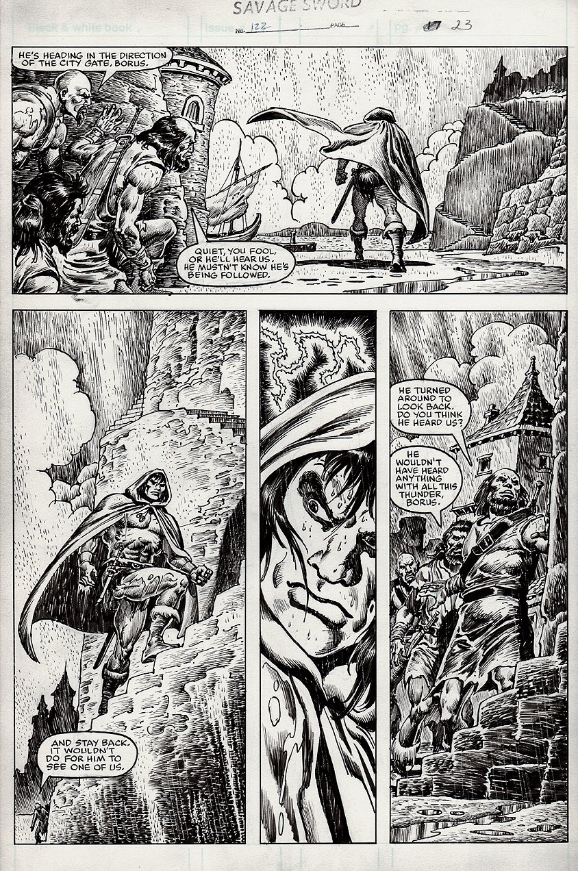 Savage Sword of Conan #122 p 23 (1985)