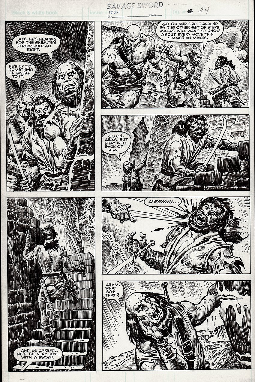 Savage Sword of Conan #122 p 24 (1985)