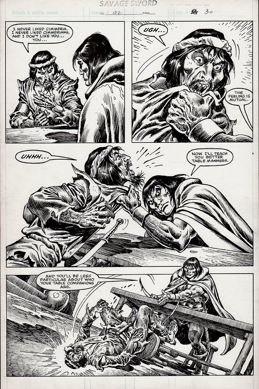 Savage Sword of Conan #122 p 30 (1985)