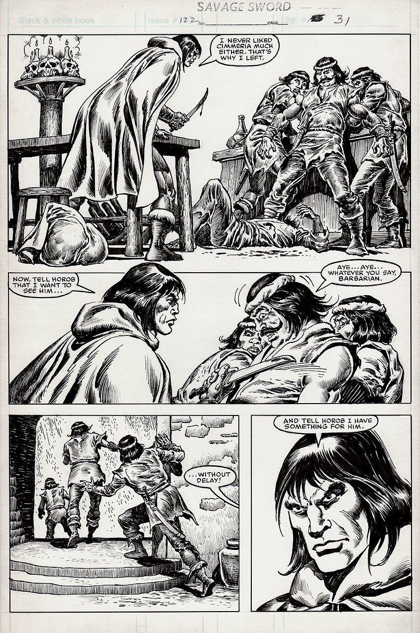 Savage Sword of Conan #122 p 31 (1985)