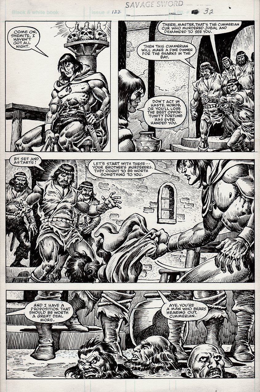 Savage Sword of Conan #122 p 32 (1985)