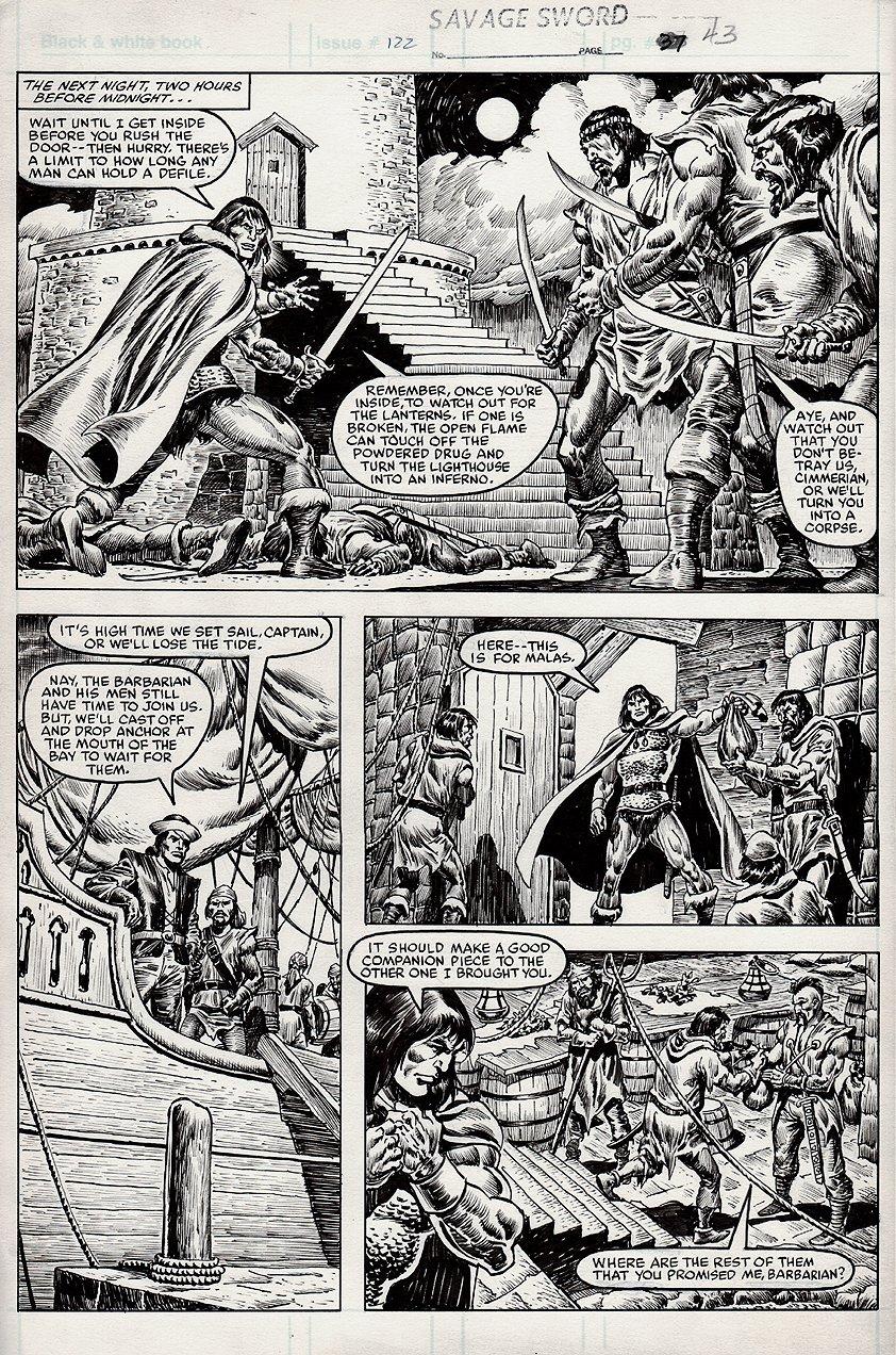Savage Sword of Conan #122 p 43 (1985)