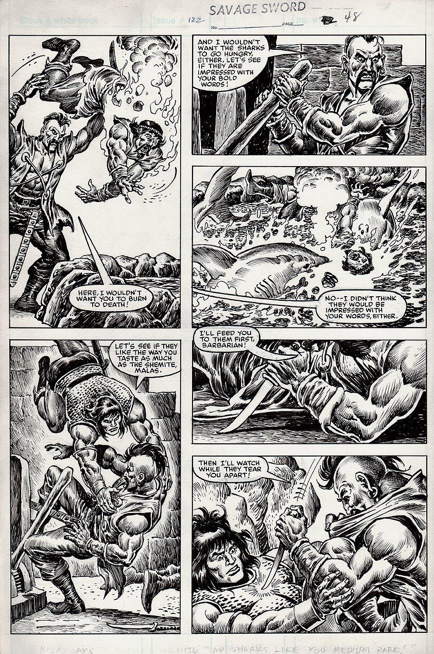 Savage Sword of Conan #122 p 48 (1985)