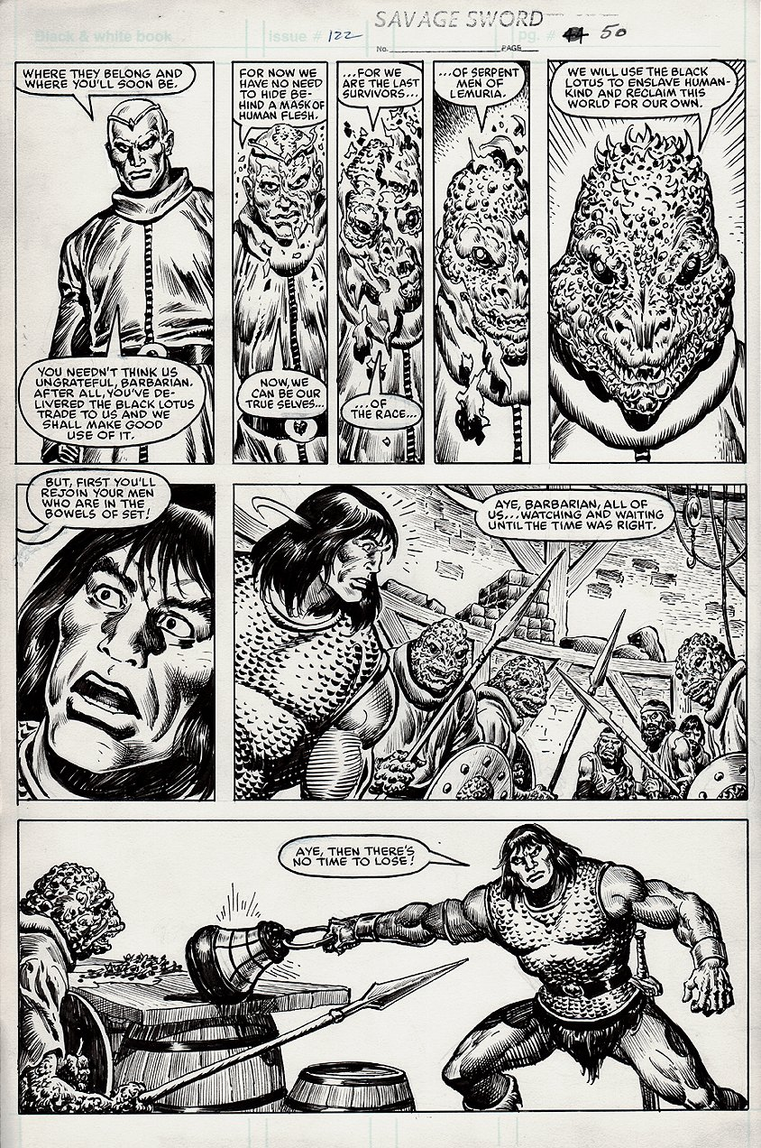 Savage Sword of Conan #122 p 50 (1985)