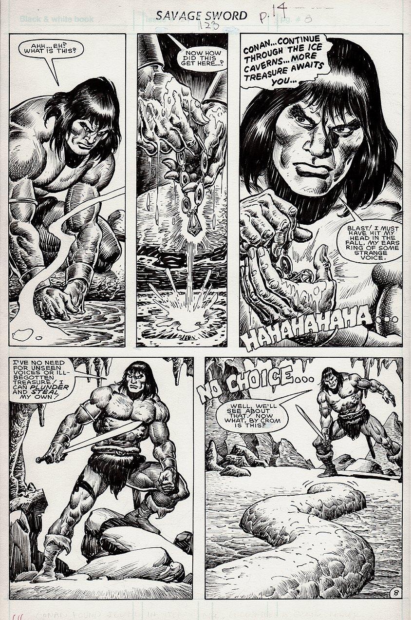 Savage Sword of Conan #123 p 8 (1985)