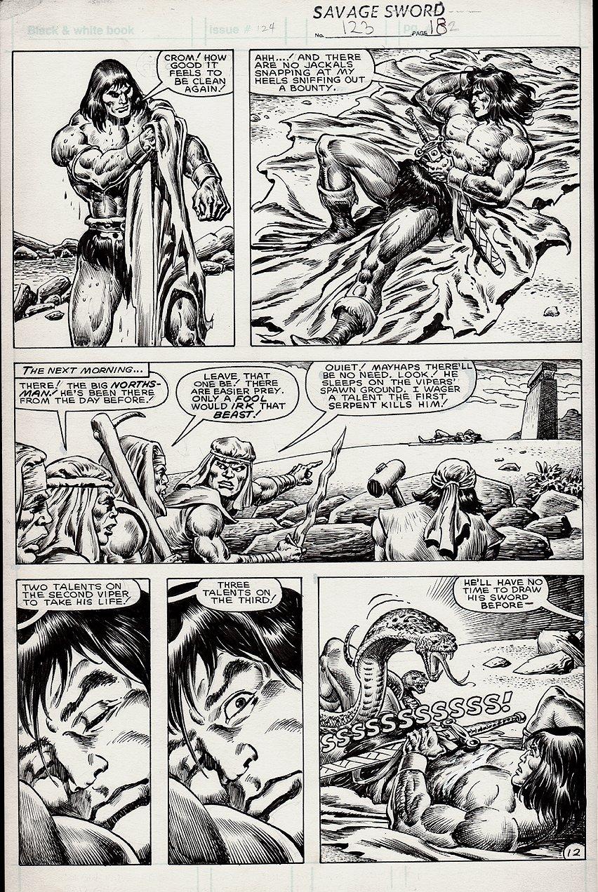 Savage Sword of Conan #123 p 12 (1985)
