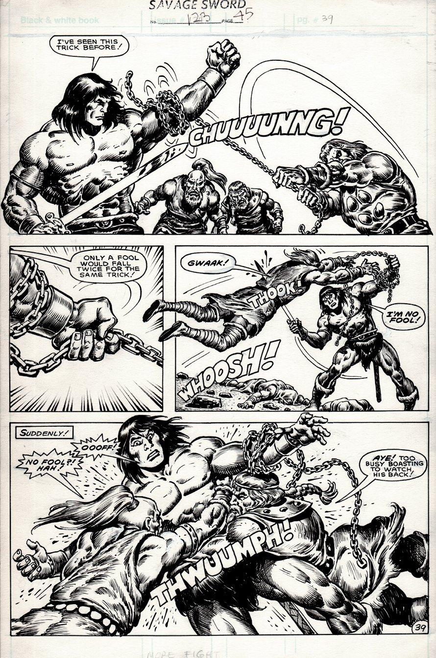 Savage Sword of Conan #123 p 39 (1985)
