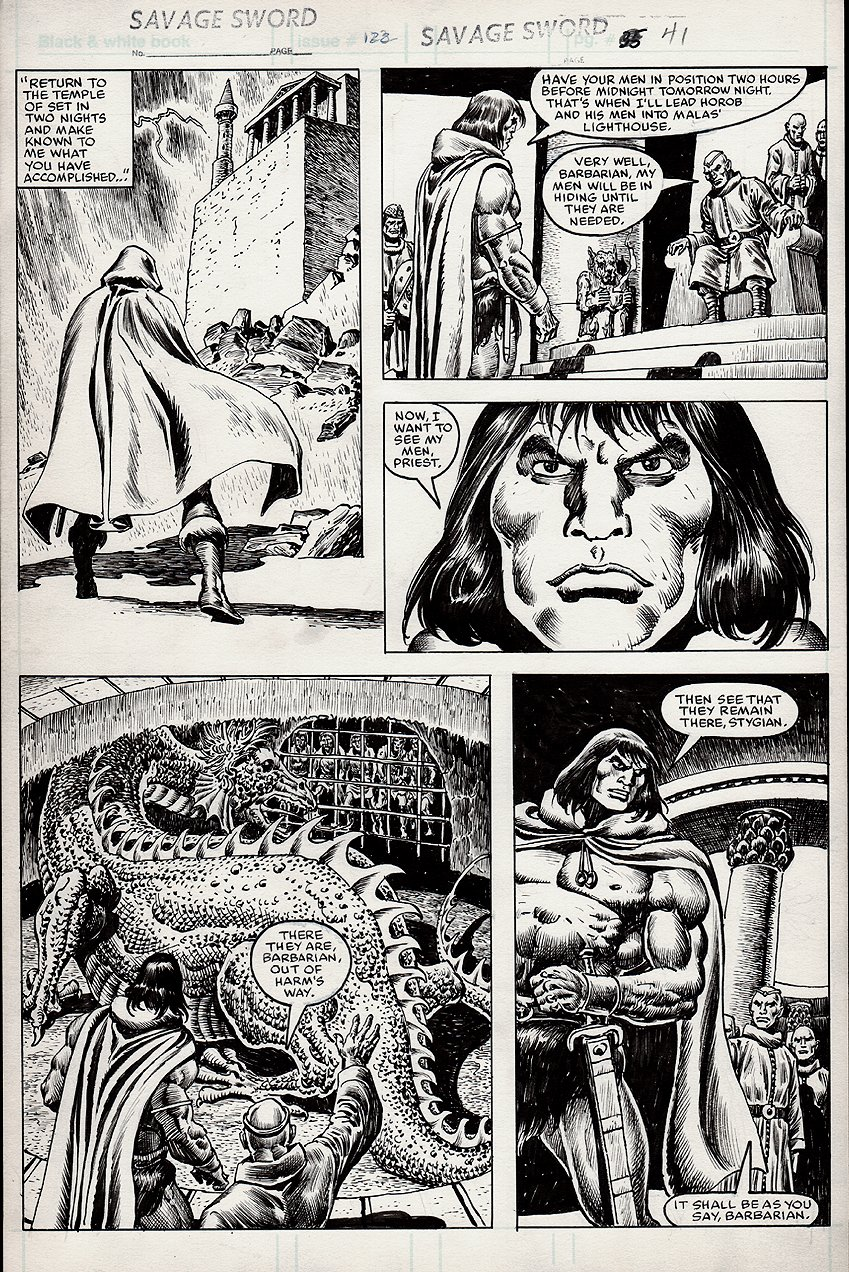 Savage Sword of Conan #122 p 41 (1985)