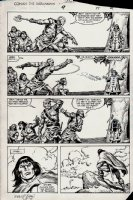 Conan Annual #9 p 29 (1984) Comic Art
