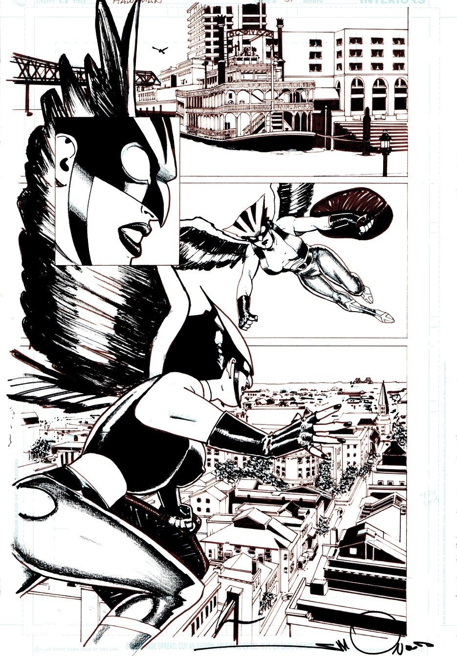 Hawkgirl #51 p 6 (2006)