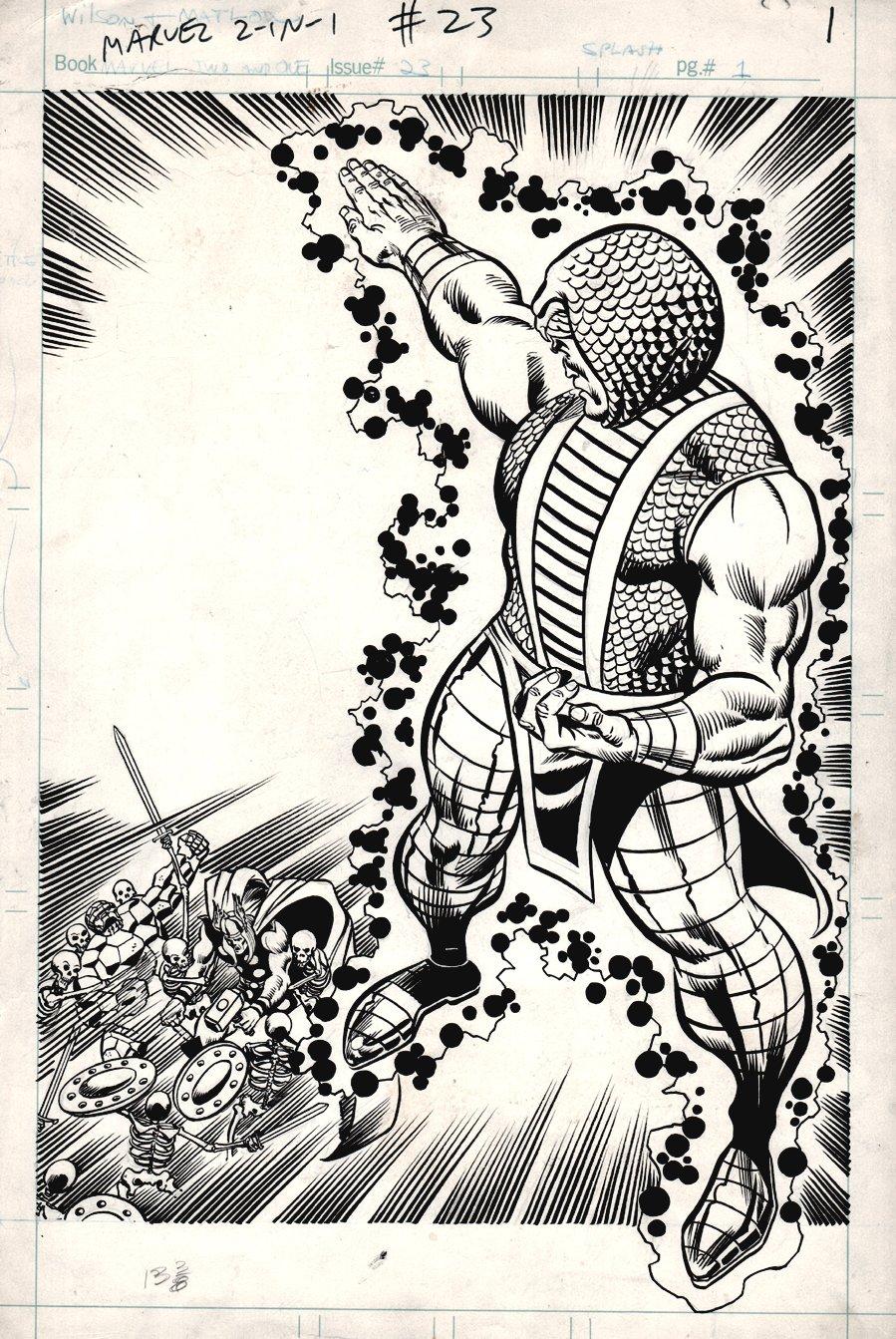 Marvel Two-in-One #23 p 1 SPLASH (1976)