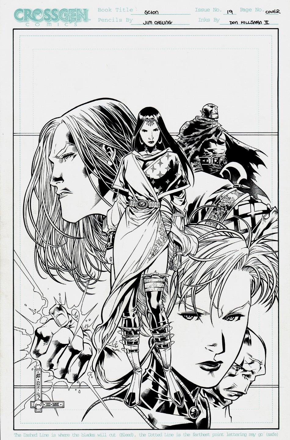 Scion #19 Cover 2001