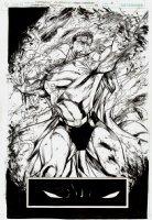 Superman / Batman #32 p 6 SPLASH (2006) Comic Art