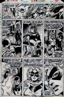 Defenders #57 p 10 (1977) Page sc Comic Art