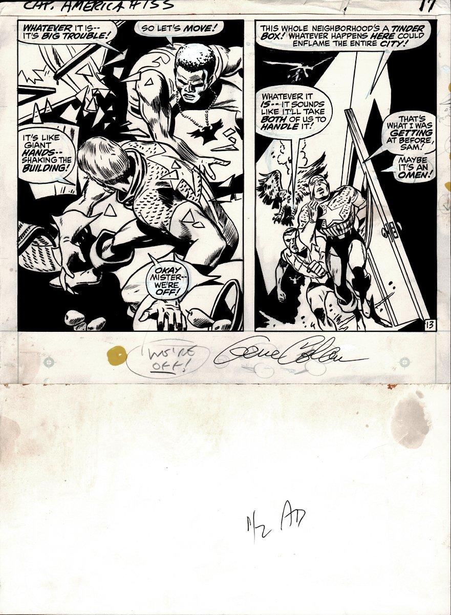 Captain America #133 p 13 (1970)