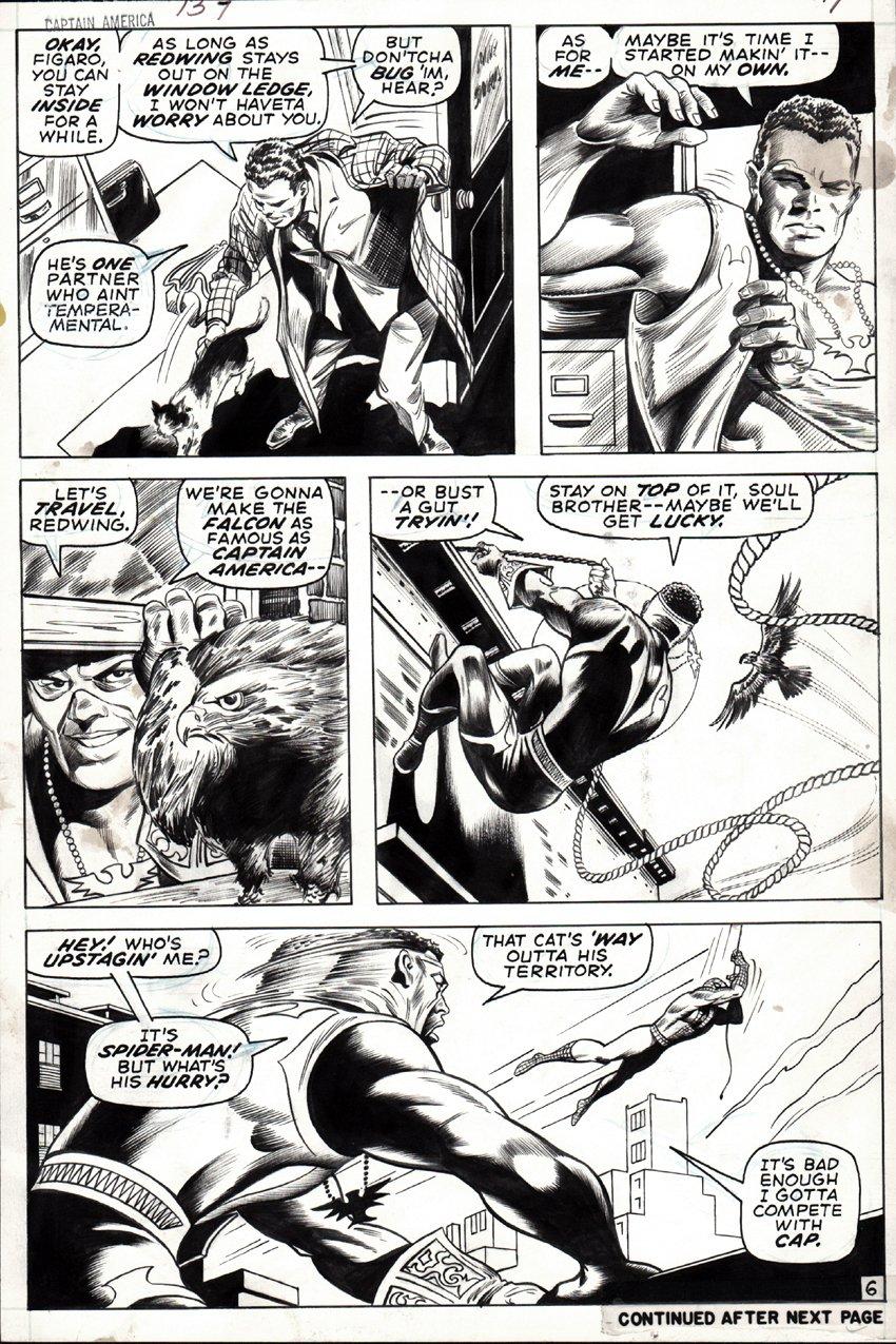 Captain America #137 p 6 (1970)