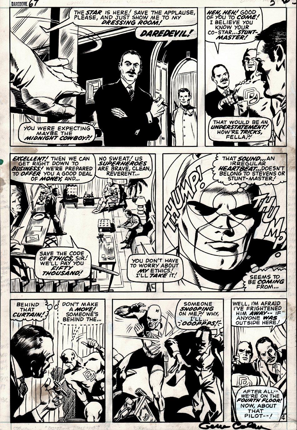 Daredevil #67 p 4 (1970)