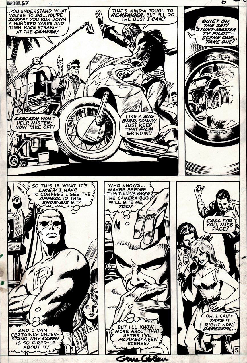 Daredevil #67 p 5 (1970)