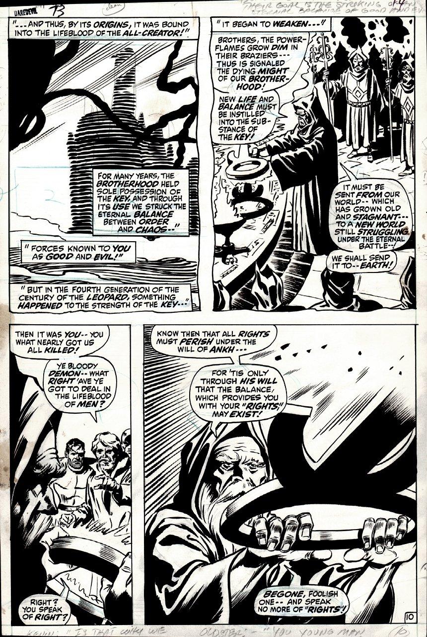 Daredevil #73 p 10 (1970)